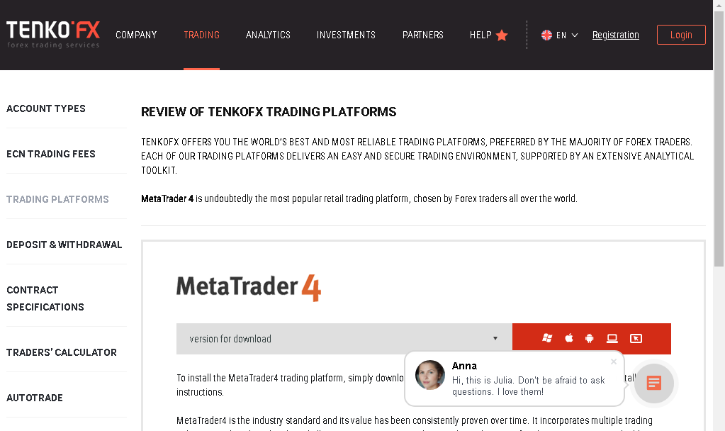 Full Review of the Forex Broker TenkoFX
