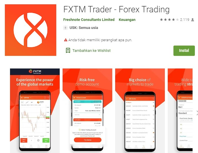 top forex trading apps android